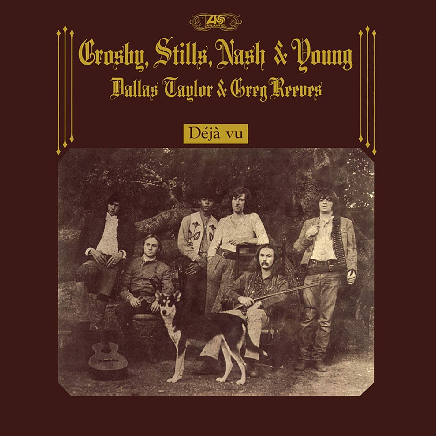 Crosby, Stills, Nash & Young – Déjà vu cover album
