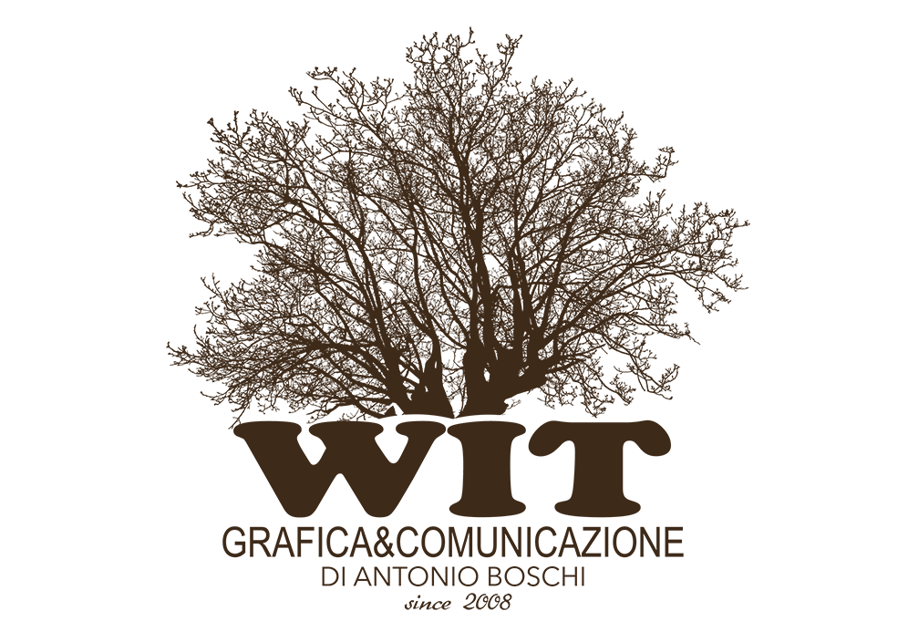 WIT grafica e comunicazione logo by antonio boschi