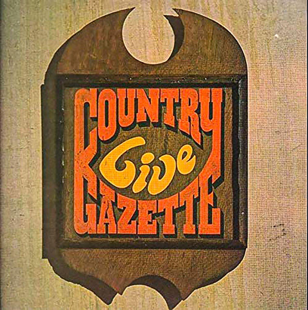 Country Gazette - Live, cover album