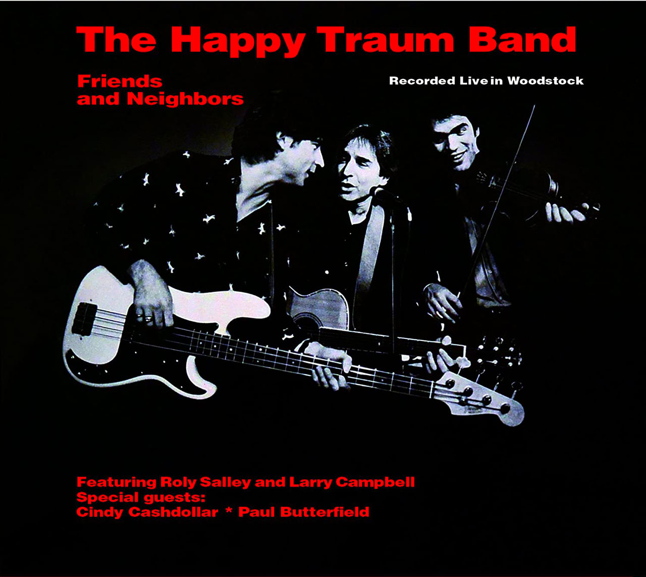 """The Happy Traum Band – """"Friends And Neighbors"""" cover album"""