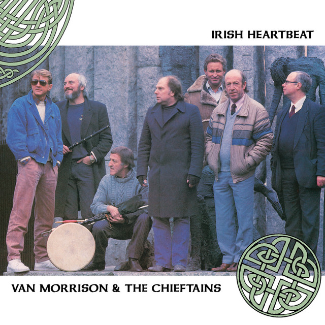 Van Morrison & The Chieftains – Irish Heartbeat cover album